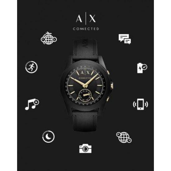 Ceas Barbati, A|X Armani Exchange, Hybrid Connected AXT1004