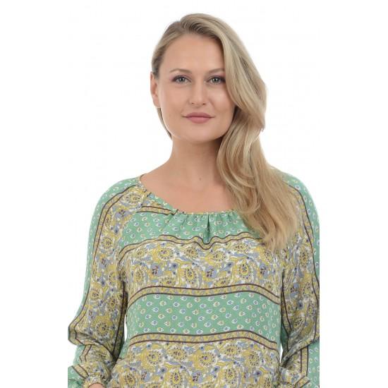 Bluza Dama Fluida Verde