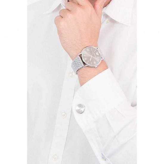 Ceas Barbati, EMPORIO ARMANI KAPPA AR80030, pachet cu butoni camasa