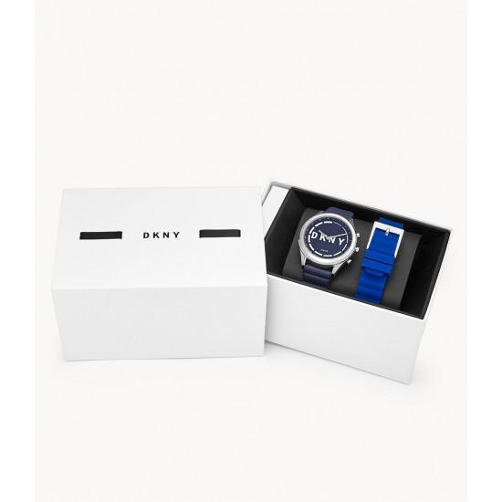 Ceas Dama, DKNY Smartwatch Minute, Pachet cu extra curea NYT6104