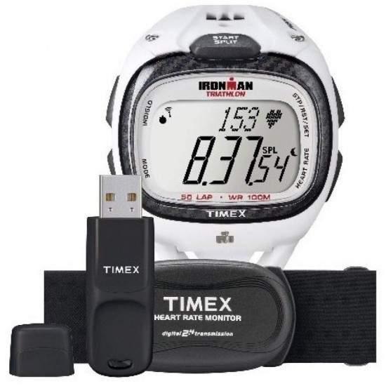 Ceas Barbati, TIMEX IRONMAN Race Trainer T5K490 + Monitor Heart Rate