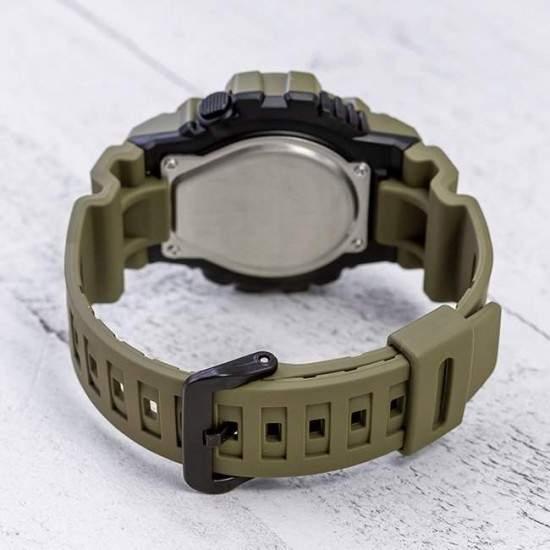 Ceas Barbati, Casio, Illuminator, Black / Army Green HDC-700-3A