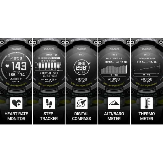 Ceas Barbati, Casio, G-Shock G-Squad GBD-H1000-4ER