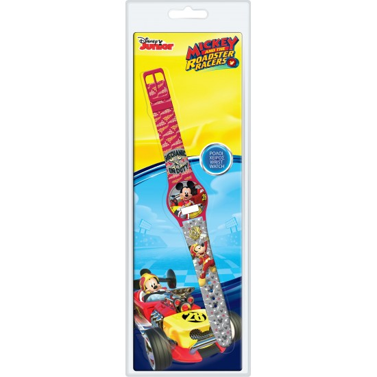Ceas Junior WALT DISNEY KID WATCH MICKEY MOUSE Roadster Racers - Blister pack 561978