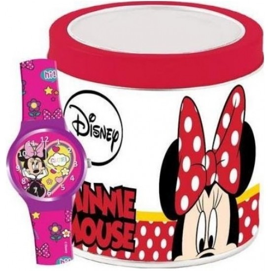 Ceas Junior WALT DISNEY KID WATCH MINNIE - Tin box 562385