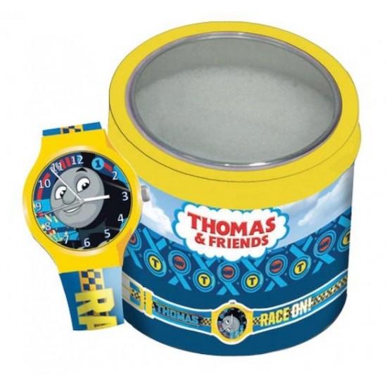 Ceas Junior WALT DISNEY KID WATCH Model THOMAS THE TRAIN - Tin Box 570421