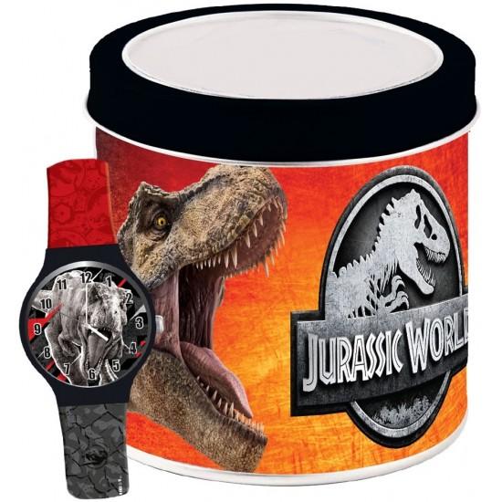 Ceas Junior JURASSIC WORLD - Tin Box 570744