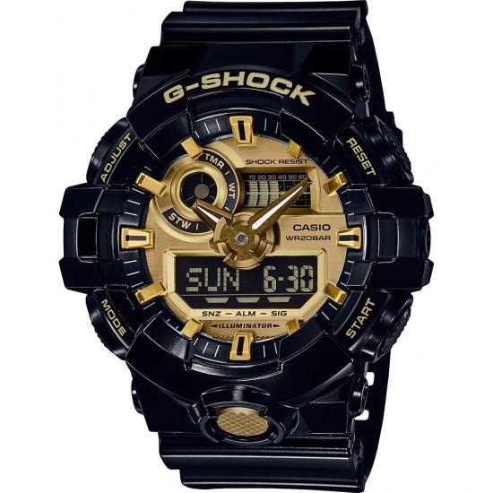 Ceas CASIO G-SHOCK WATCHES GA-710GB-1AER GA-710GB-1AER
