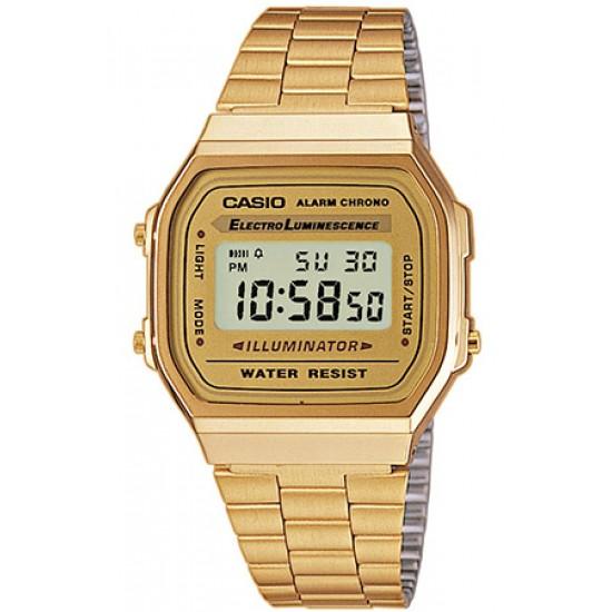 Ceas CASIO VINTAGE GENT GOLD A168WG-9E