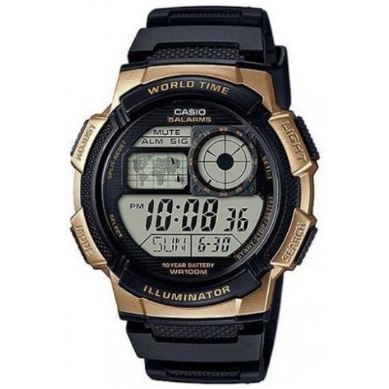 Ceas Barbati ILLUMINATOR WORLD TIME AE-1000W-1A3