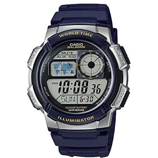 Ceas Barbati ILLUMINATOR WORLD TIME AE-1000W-2A