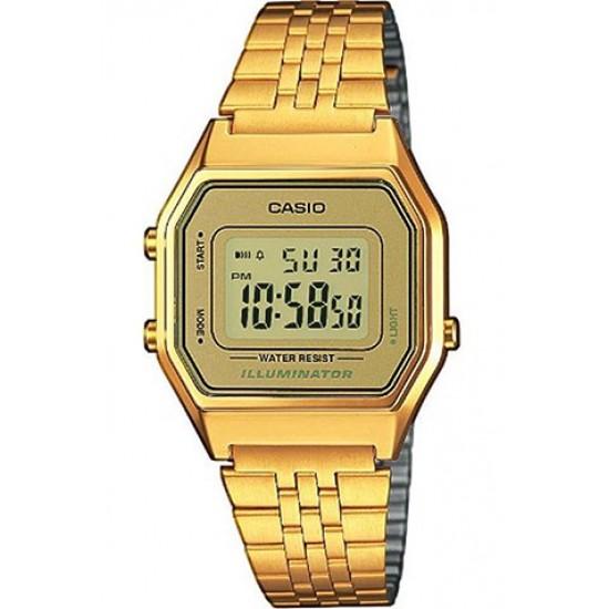 Ceas Dama CASIO VINTAGE LADY GOLD LA-680WG-9