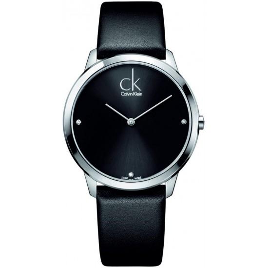 Ceas Barbati, Calvin Klein, Minimal - 3 Diamonds K3M211CS