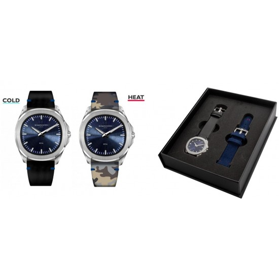 Ceas KAMA WATCH KWPM36 Special Pack (2 Straps) KWPM36