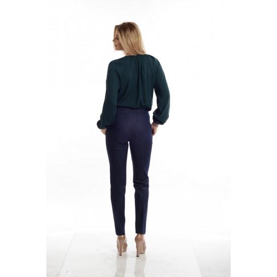 Pantaloni Dama Bleumarin Clasici
