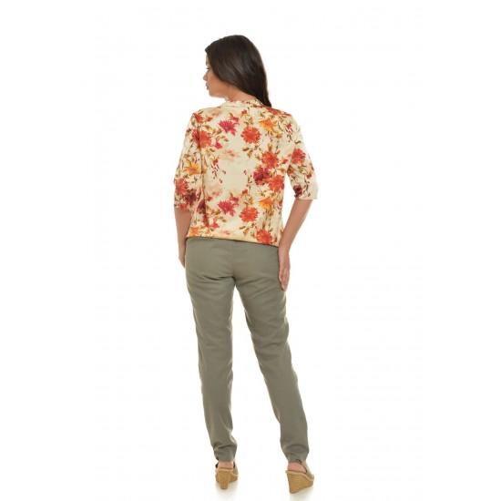 Pantaloni Dama  Kaki