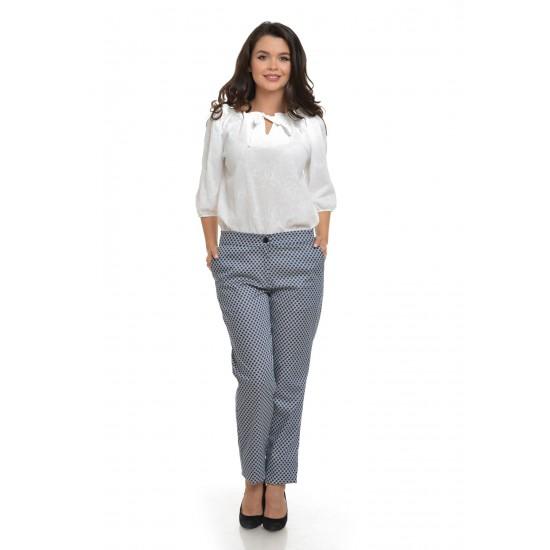 Pantalon Dama Drepti Bleumarin
