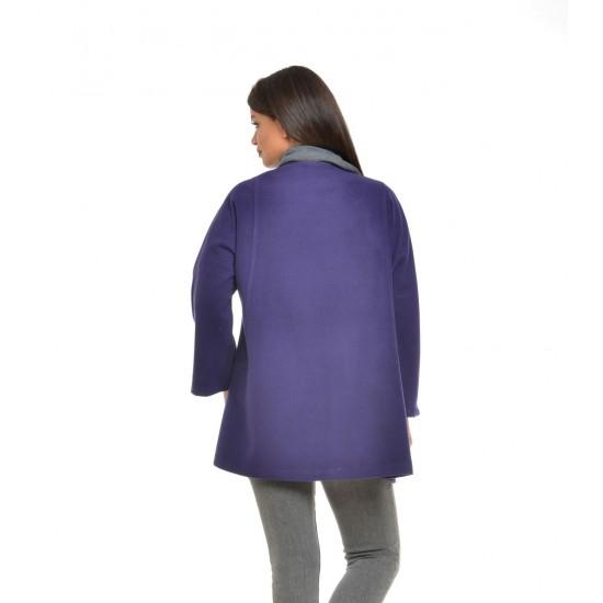 Jacheta de Dama din Stofa Mov