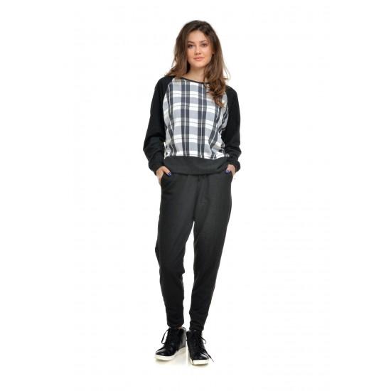 Pantaloni Negri Dama  casual sport