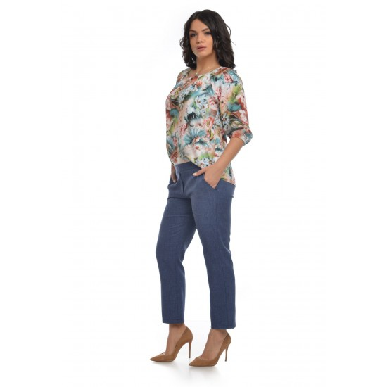 Pantaloni Dama Office Denim