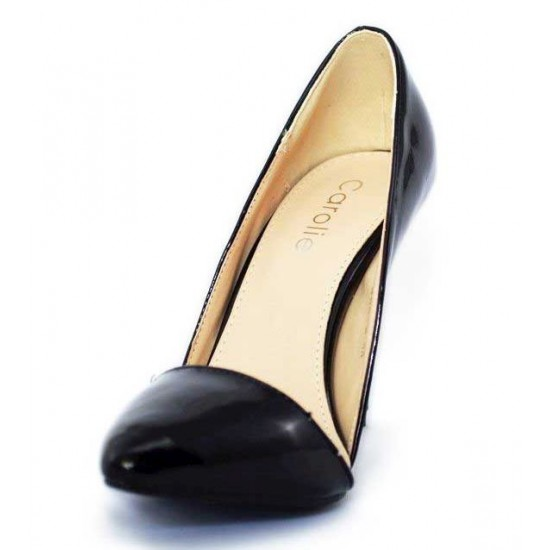 Pantofi dama negri Stiletto - toc 10 cm, model Serendipity
