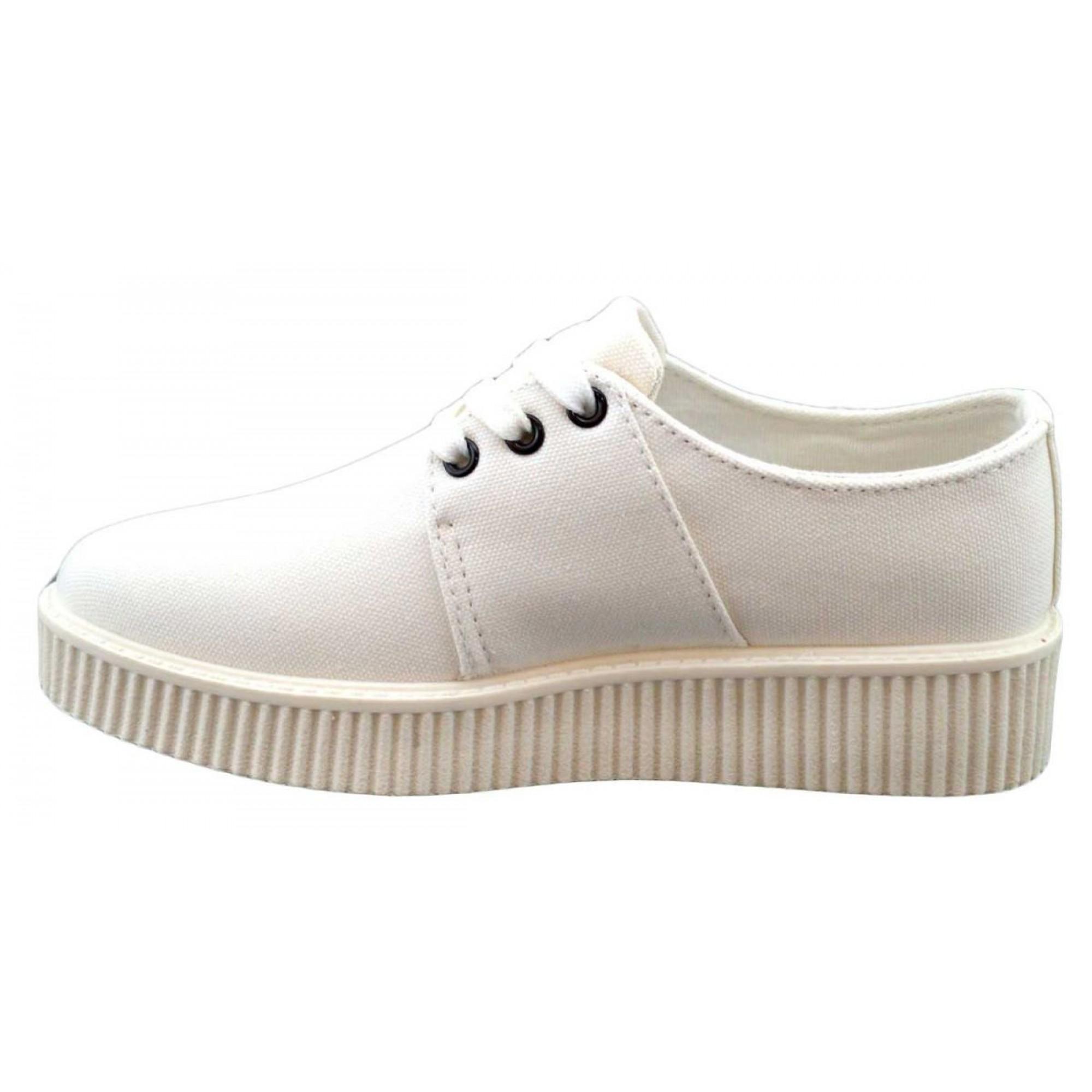 pantofi sport dama albi cu talpa groasa. Black Bedroom Furniture Sets. Home Design Ideas