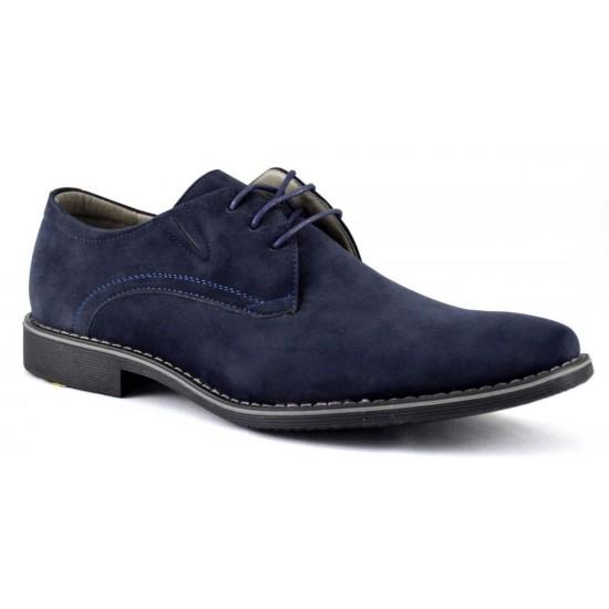 Pantofi barbatesti bleumarin - Elixir