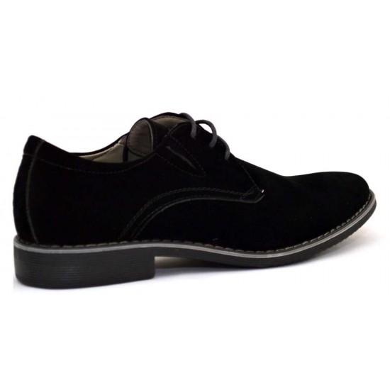 Pantofi barbatesti negri - Elixir