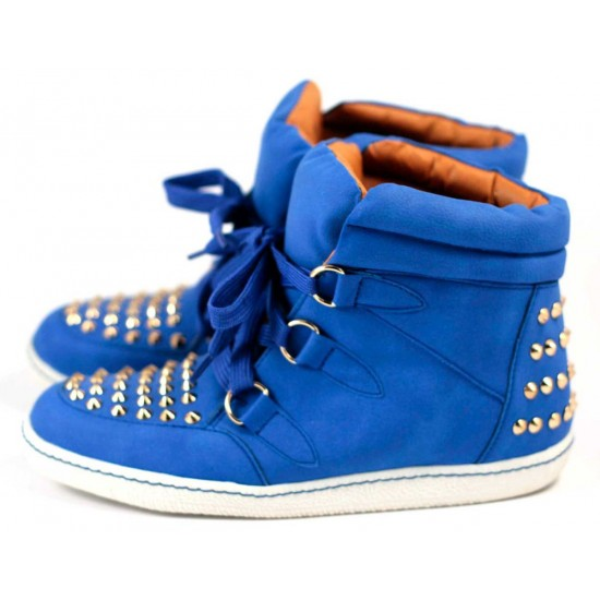 Pantofi Sport Dama Bullets cu tinte - Albastru