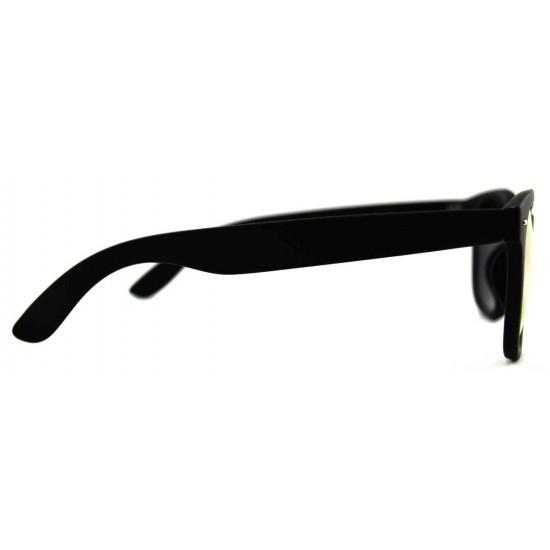 Ochelari de soare Passenger Verde reflexii cu rama Neagra'