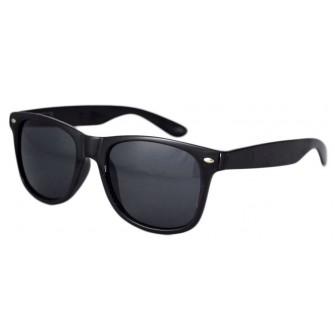 Ochelari de soare Passenger - Negru Lucios - Bleumarin Polarizati