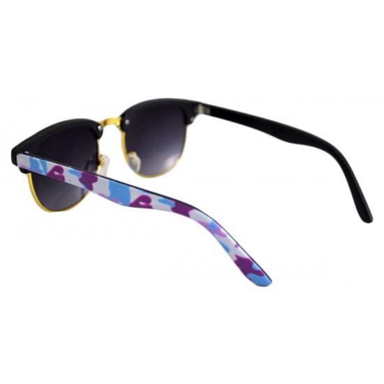 Ochelari de soare Clubmaster Retro Bleumarin - Bleu Army'