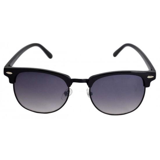Ochelari de soare Clubmaster Retro - Negru