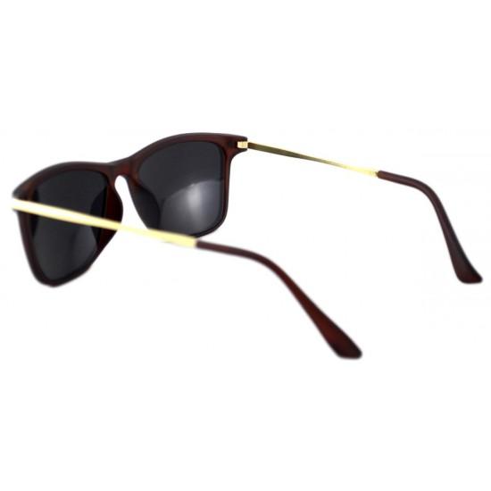 Ochelari de soare Passenger V Verde cu reflexii cu Maro Mat'