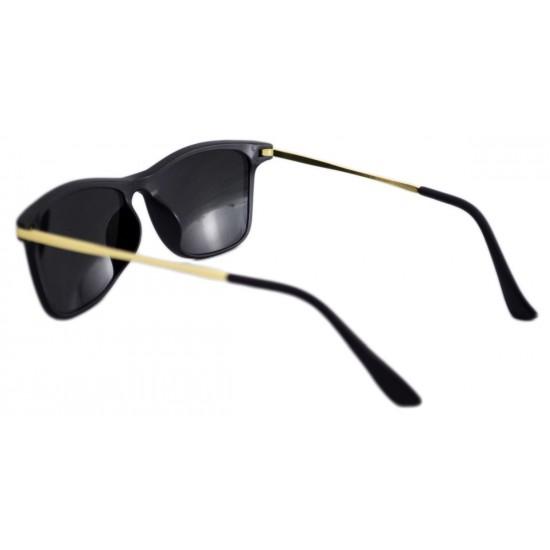 Ochelari de soare Wayfarer Passenger V Orange reflexii Negru Mat-