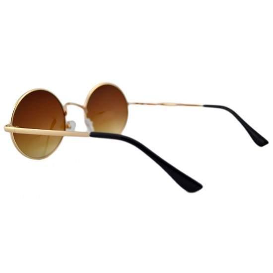 Ochelari de soare Rotunzi Retro John Lennon Maro degrade - Auriu