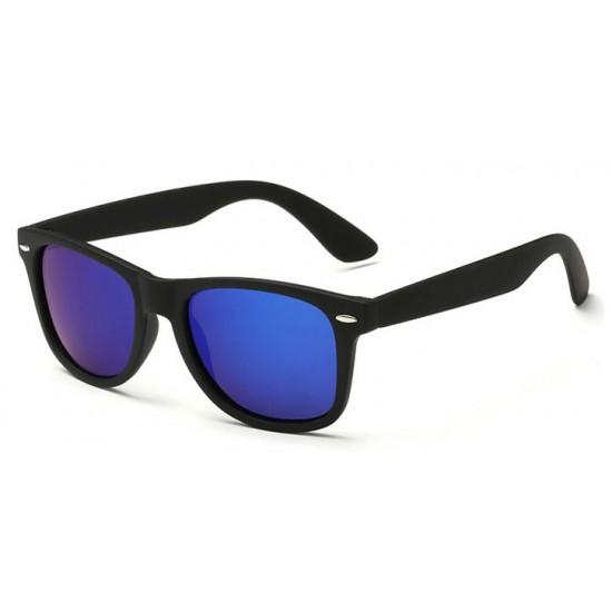Ochelari de soare Wayfarer Passenger Albastru reflexii Negru
