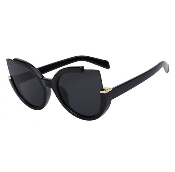 Ochelari de soare Ochi de Pisica Negru - Negru III