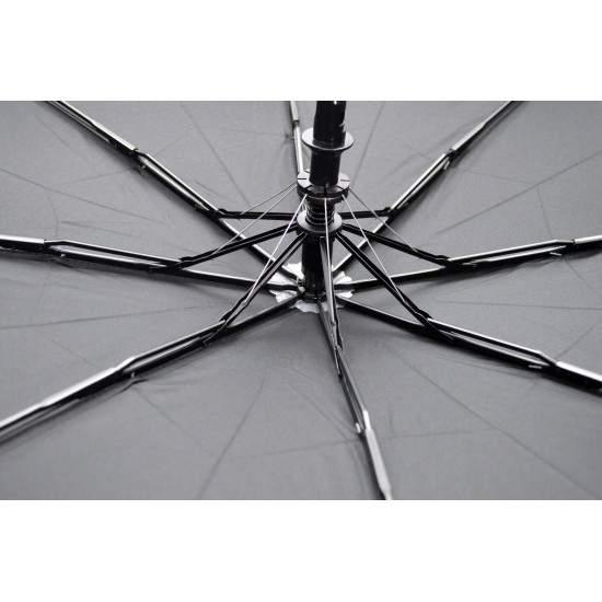 Umbrela Pliabila ICONIC Automata, Neagra, Ø110cm, articulatii anti-vant