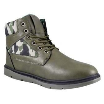 Ghete Barbati Verde Camuflaj Army Captusite - XB