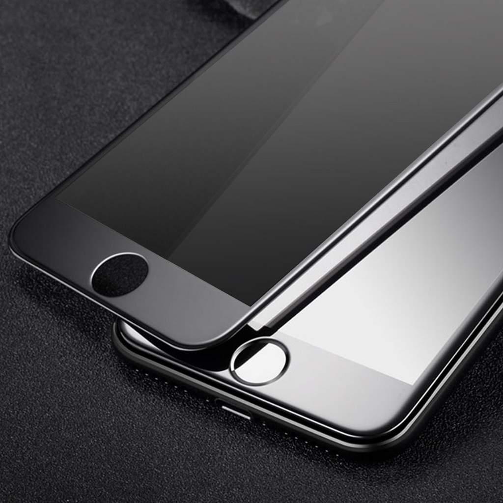 folie de protectie iphone 8 sticla securizata 3d acoperire 100 0 2mm geam balistic neagra. Black Bedroom Furniture Sets. Home Design Ideas