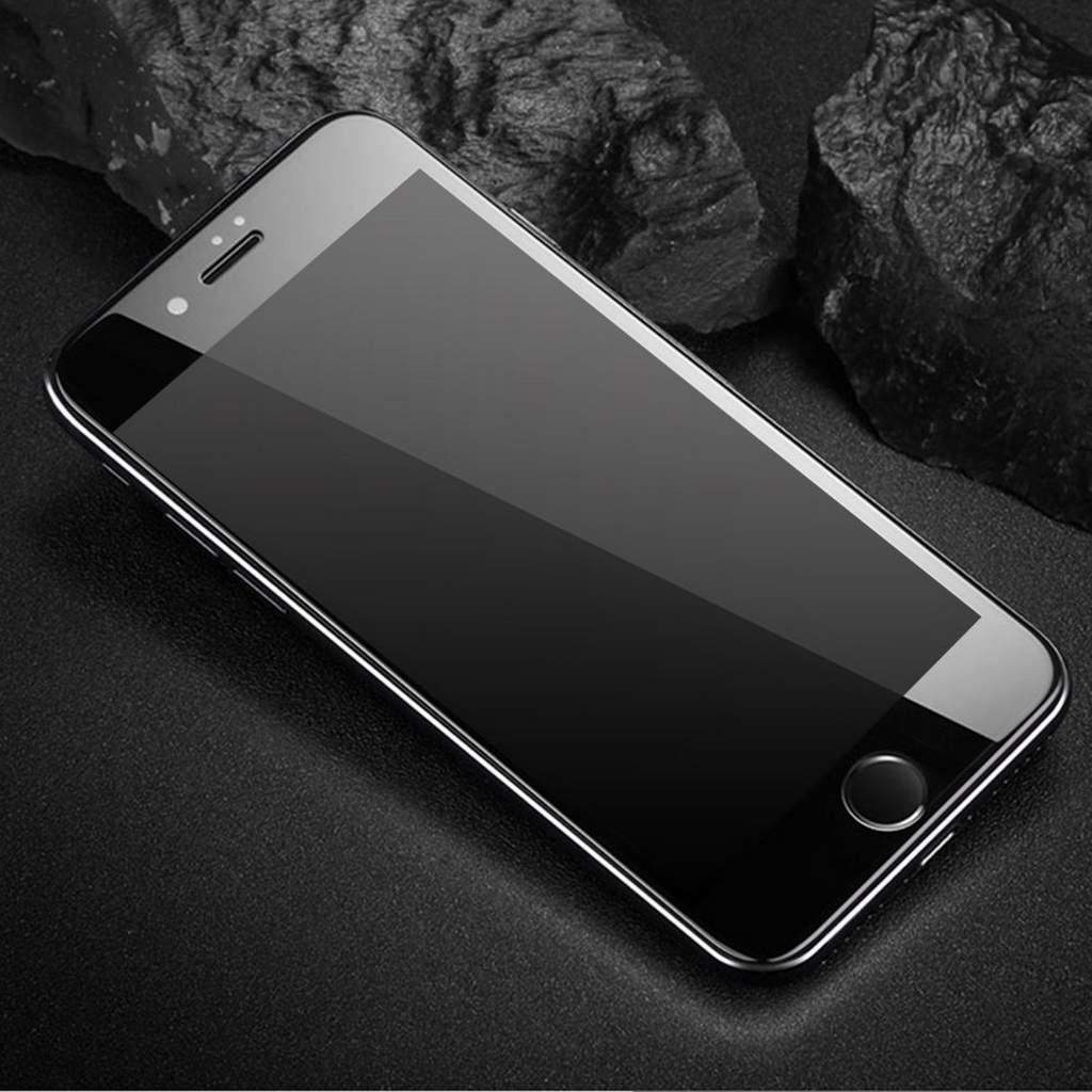 folie de protectie iphone 8 plus sticla securizata 3d acoperire 100 0 2mm geam balistic neagra. Black Bedroom Furniture Sets. Home Design Ideas