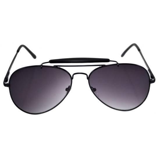 Ochelari de soare Aviator Outdoorsman Negru - Negru