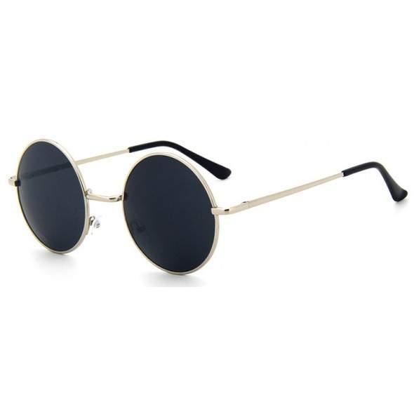 Ochelari de soare Rotunzi Retro John Lennon Bleumarin - Argintiu