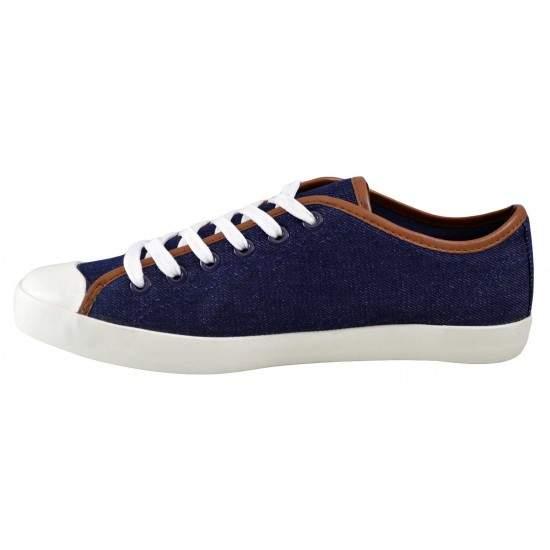 Pantofi Casual Barbati Bleumarin Jeans din textil