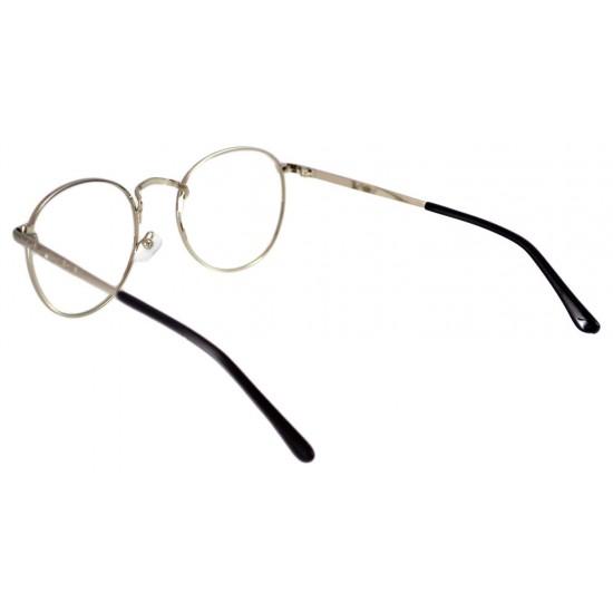 Ochelari - Rame cu lentile transparente Harry Potter Semirotund Oval John Lennon Argintiu