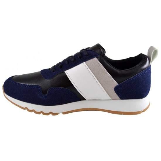 Pantofi Barbati Casual Sport Bleumarin Sebastian