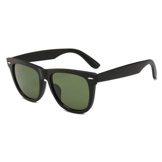 Ochelari de soare Wayfarer Passenger Negru cu Verde