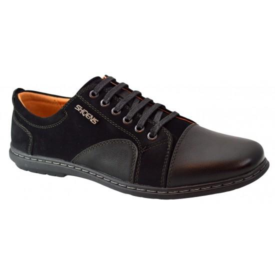 Pantofi Casual Barbatesti negri NS