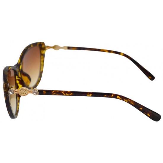 Ochelari de soare Ochi de pisica Cat eye III - Maro Leopard